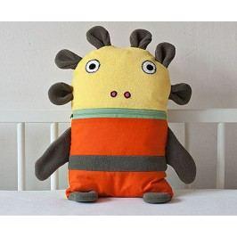 Bartex Design Pyžamožrout, malý - oranžovo-zelený