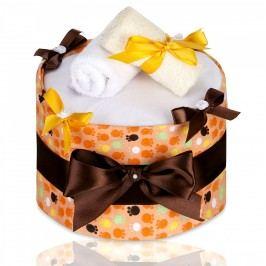 T-tomi Plenkový dort LUX, velké oranžové tlapky