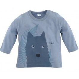 Pinokio Chlapecké tričko s vlkem - šedé