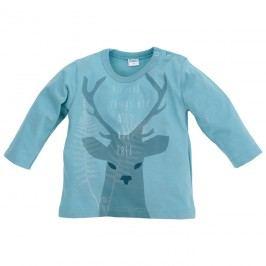 Pinokio Chlapecké tričko s jelenem - tyrkysové