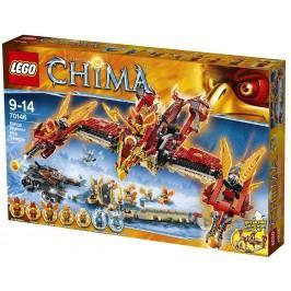 LEGO® Chima 70146 Létající ohnivý chrám Fénix