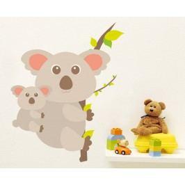 Housedecor Samolepka na zeď Koala a mládě