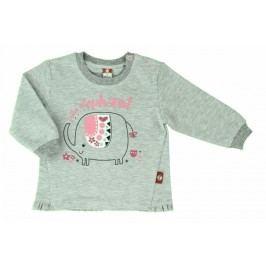 2be3 Dívčí kabátek Elephant - šedý