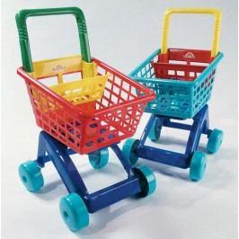 Teddies Nákupní vozík plastový - tyrkysový