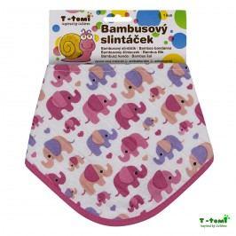T-tomi Bambusový slintáček, růžoví sloni