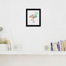 Walplus Obraz na plátně - Plameňák