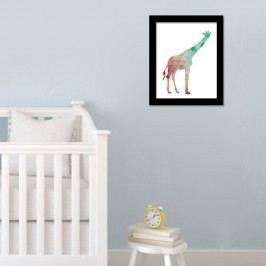Walplus Obraz na plátně - Žirafa