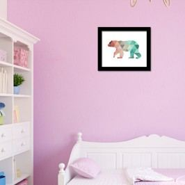 Walplus Obraz na plátně - Lední medvěd