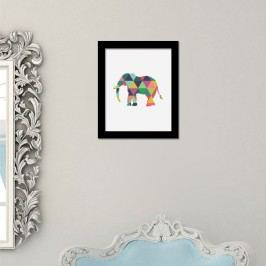 Walplus Obraz na plátně - Slon