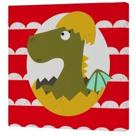 Baleno Nástěnný obraz Dragon - drak miminko, 27x27 cm