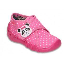 Befado Dívčí bačkůrky s pandou Speedy - růžové