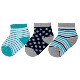 G-mini Chlapecký set 3 párů ponožek - barevný