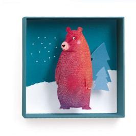 Djeco Obrázek Medvěd