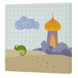 Mr. FOX Nástěnný obraz Aladdin - palác, 27x27 cm