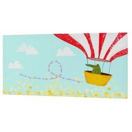 Baleno Nástěnný obraz Balloon Ride, 27x54 cm