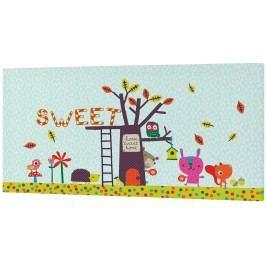 Baleno Nástěnný obraz Sweet Home, 27x54 cm
