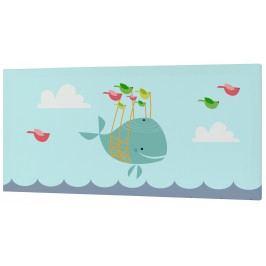 Baleno Nástěnný obraz Whale Ride, 27x54 cm