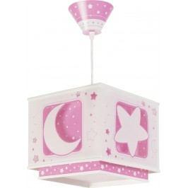 Dalber Dětské závěsné svítidlo Moon Pink