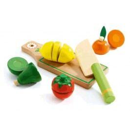 Djeco Dřevěné krájení ovoce a zelenina