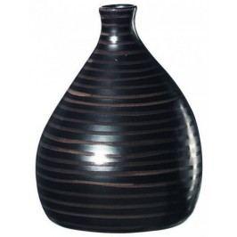 Váza CUBA ASA Selection tmavě hnědá, 26 cm
