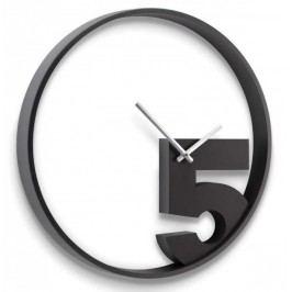 Umbra Nástěnné hodiny Take 5, černé