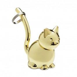 Stojánek na prstýnky Umbra Zoola Cat - zlatý