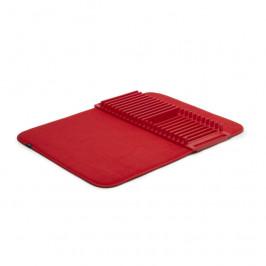 Skládací odkapávač na nádobí Umbra UDRY - červený