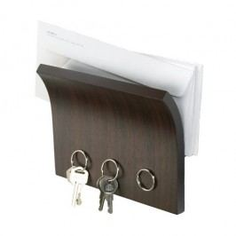 Umbra Magnetický panel na klíče Magnetter, espresso