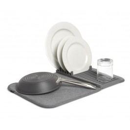 Skládací odkapávač na nádobí Umbra UDRY MINI - šedý
