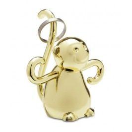 Stojánek na prstýnky Umbra ZOOLA MONKEY- zlatý