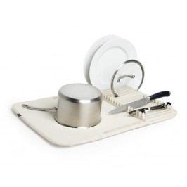 Skládací odkapávač na nádobí Umbra UDRY - krémový