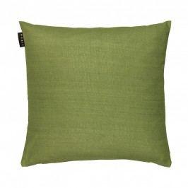 Povlak na polštář 50x50 cm LINUM Seta - hráškově zelený