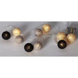 Světelný řetěz s kuličky STAR TRADING Jolly - barevný