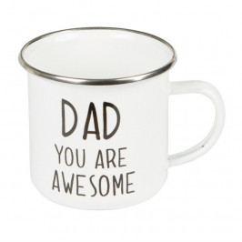 Smaltovaný hrníček Sass & Belle Dad You Are Awesome