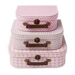 Kufříky 3 ks Sass & Belle Spring Retro Daisy