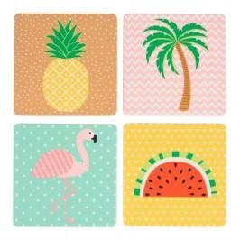 Podložka pod sklenici 4 ks Sass & Belle Tropical Summer
