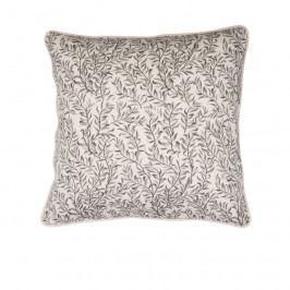 Povlak na polštář 50x50 cm Broste THIN LEAF - šedobéžový