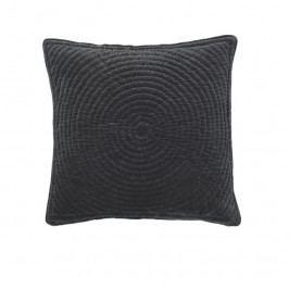 Povlak na polštář 60x60 cm Broste QUILT RING - černý