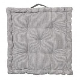 Sedák s výplní 40x40 cm Broste NAVA - šedý