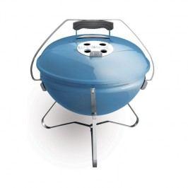 Gril Weber Smokey Joe Premium 37 cm, modrý