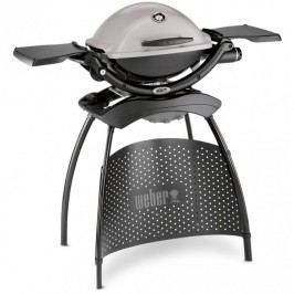 Plynový gril Weber Q 1200 Stand, šedý