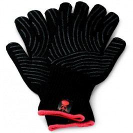Sada grilovacích rukavic Premium - velikost L/XL, černé, žáruvzdorné Weber