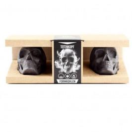 Brikety z dřevěného uhlí LEBKA - dárkový box Servis Les