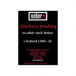 Dárkový poukaz na 1 000 Kč Weber