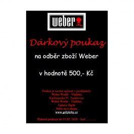 Dárkový poukaz na 500 Kč Weber
