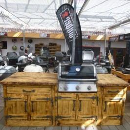 Venkovní kuchyně Masiv Weber