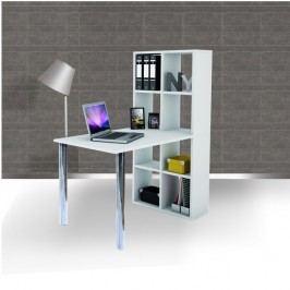 PC stůl, bílý, BEXINTON