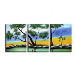 Obraz, ručně malovaný, 150x60 cm, 21582