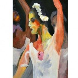 Obraz, ručně malovaný, 60x100 cm, 30192