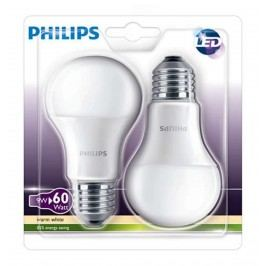 PHILIPS žárovka LED E27 9W = 60W 2700K 806lm sada